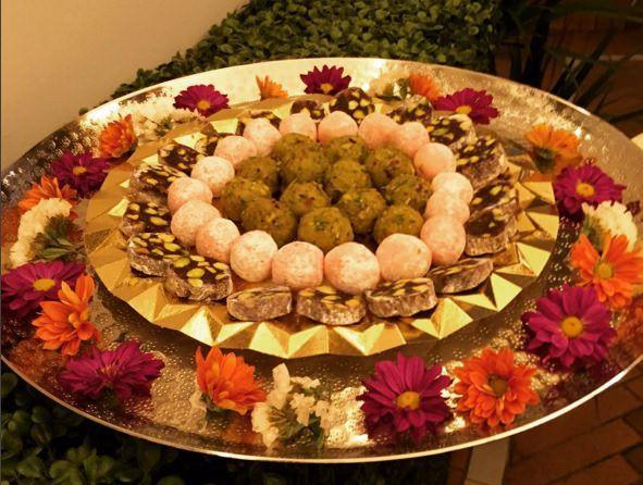 Dulces típicos de Diwali
