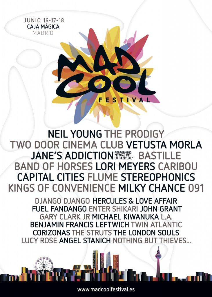 Mad Cool Fest Cartel