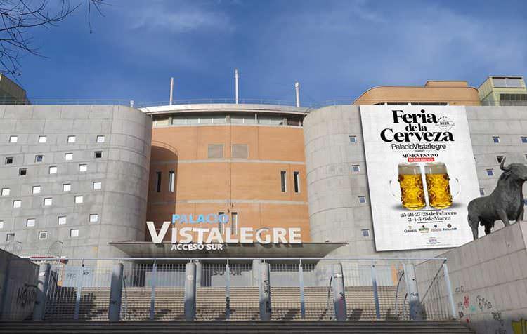 El Palacio de Vistalegre listo para recibir a la Feria de la Cerveza.