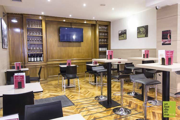 salón degustación | moniberic Madrid