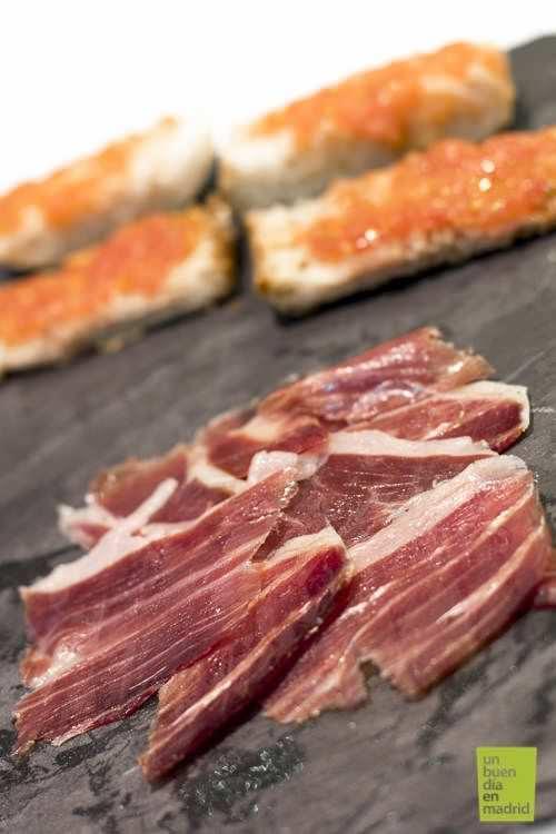ración jamón ibérico de bellota | moniberic Madrid
