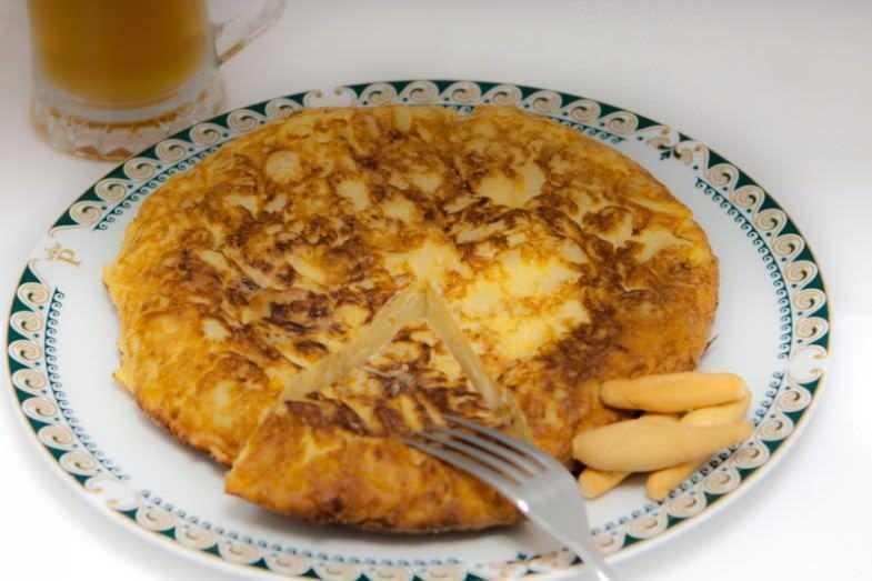 I Jornada Gastronómica de la tortilla de patata en Triball - Un buen día en Madrid