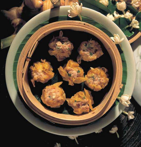 Empanadillas al vapor