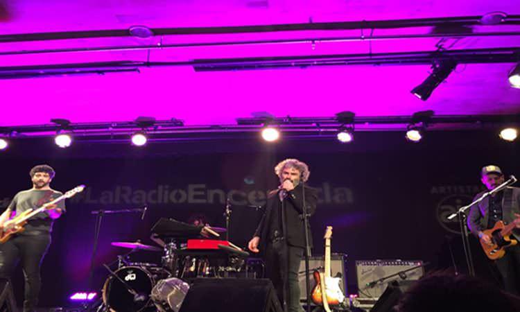 León Benavente en La Radio Encendida.