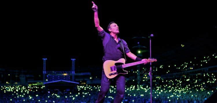 Bruce Springsteen cierra su gira española en Madrid