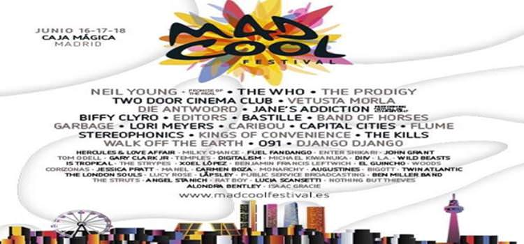 Cartel Mad Cool Festival.