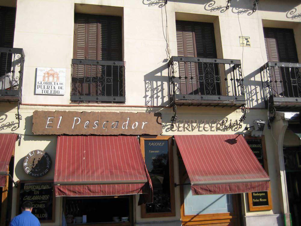 Bar El Pescador en Puerta de Toledo