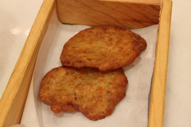 Tortitas de Camarones en La Toná
