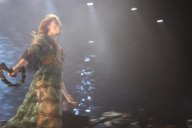 Florence And The Machine durante su concierto de Madrid.