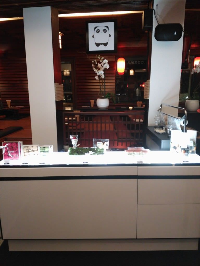 Stand de la pastelería Panda