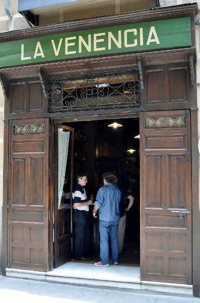 Bar La Venencia en el Barrio de las Letras