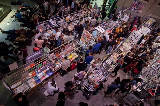 Feria Libros Mutantes.