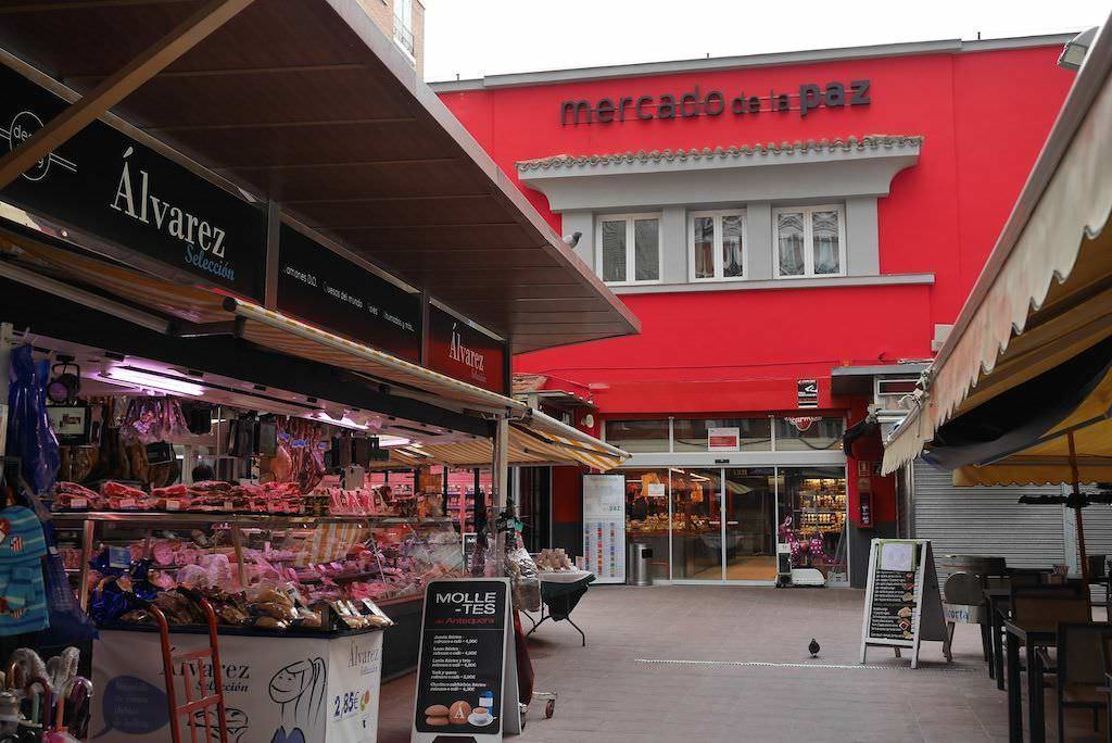 Mercado de la Paz en el Barrio Salamanca