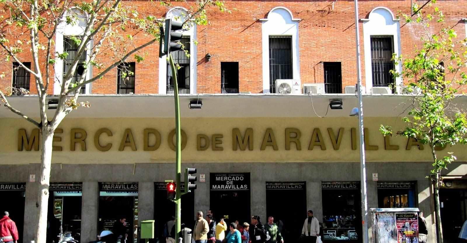 Mercado de las Maravillas en Cuatro Caminos