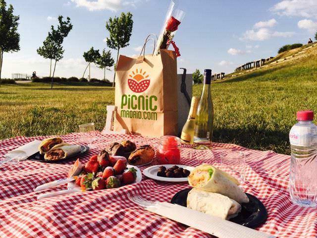 picnic romántico en madrid