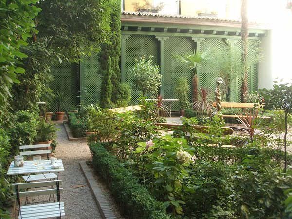 Café del Jardín en el Museo del Romanticismo