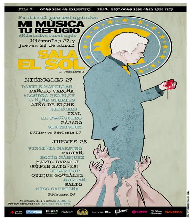 El Festival Mi Música Tu Refugio se celebrará los próximos días 27 y 28 de Abril