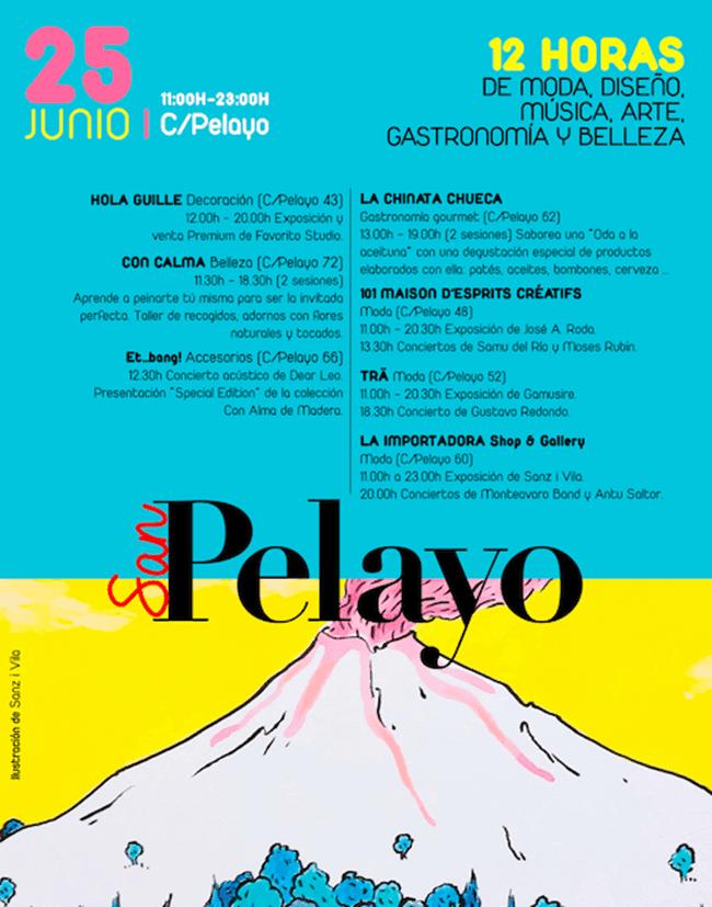La calle Pelayo se llenara de actividades este sábado