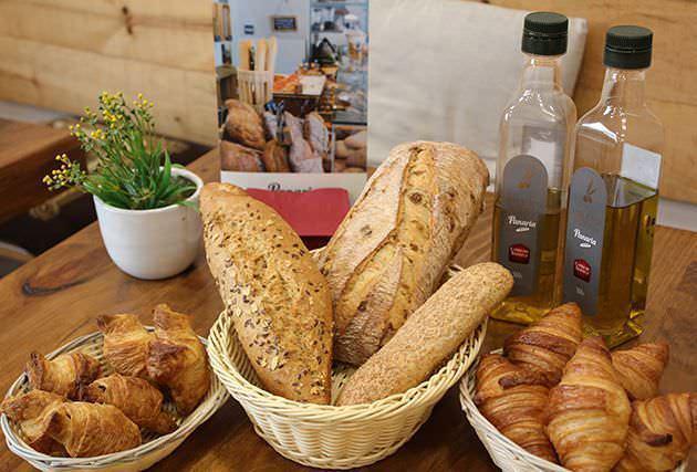 Diferentes tipos de pan en Panaria
