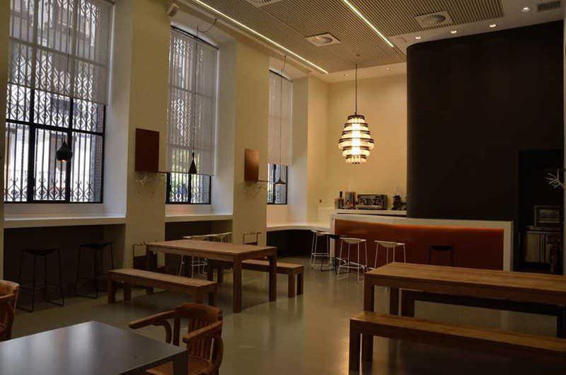 Cafeteria de la Casa Encendida en Embajadores