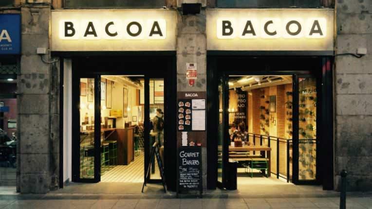 Bacoa Puerta del Sol Hamburguesa gourmet en el centro de Madrid