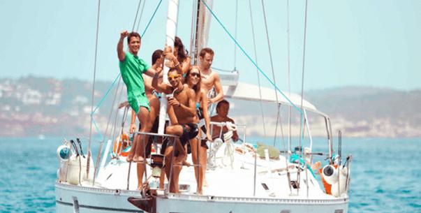 Fiestas en Catamarán