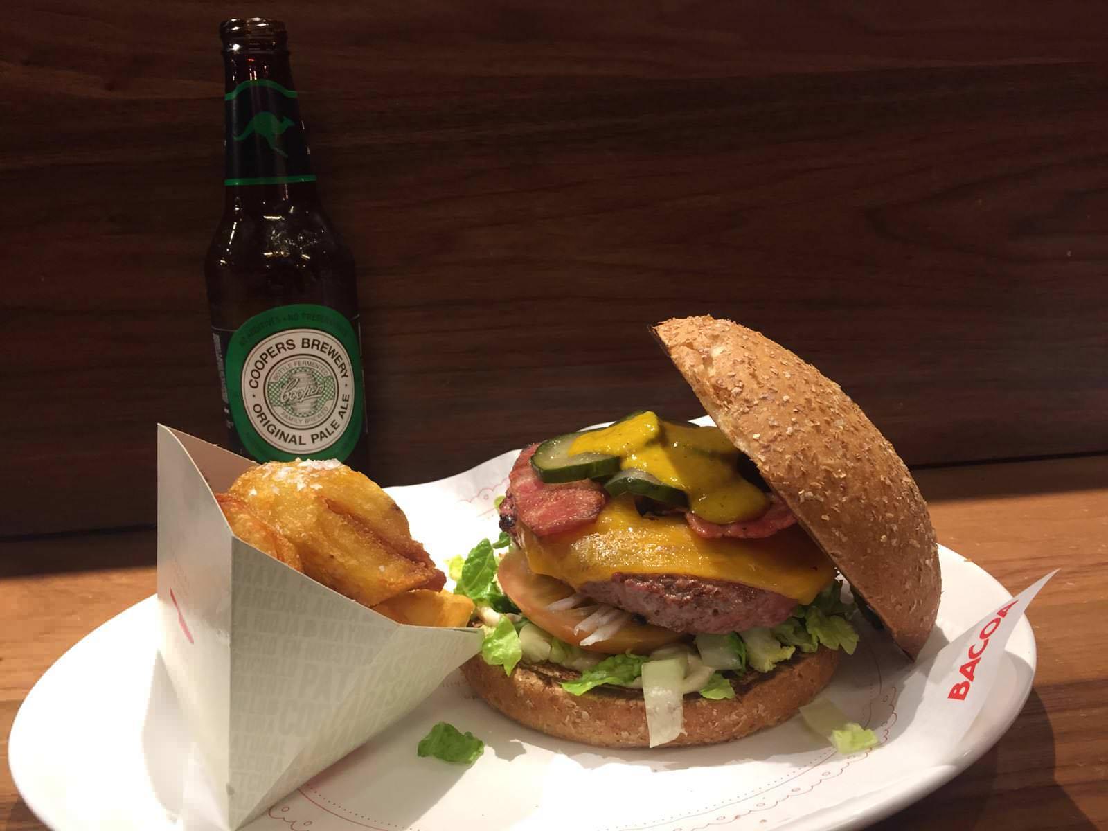 Hamburguesa Bacoa en Madrid