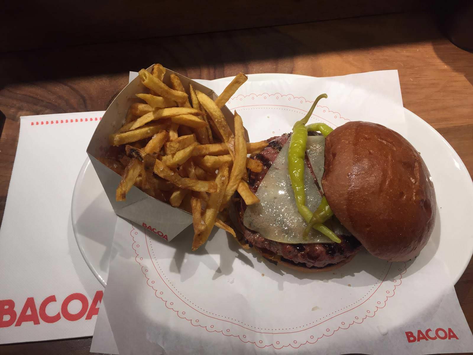 Hamburguesa Especial de Primavera en Bacoa