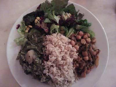 Plato principal menú degustación Gauranga