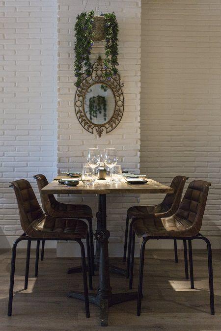 Mesas y decoración Sushi & Buey