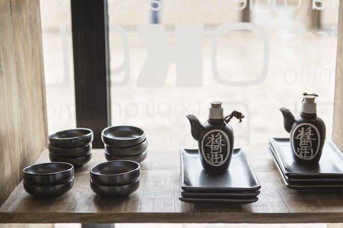 Platos y tazas japonesas