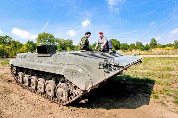 Conducir un tanque