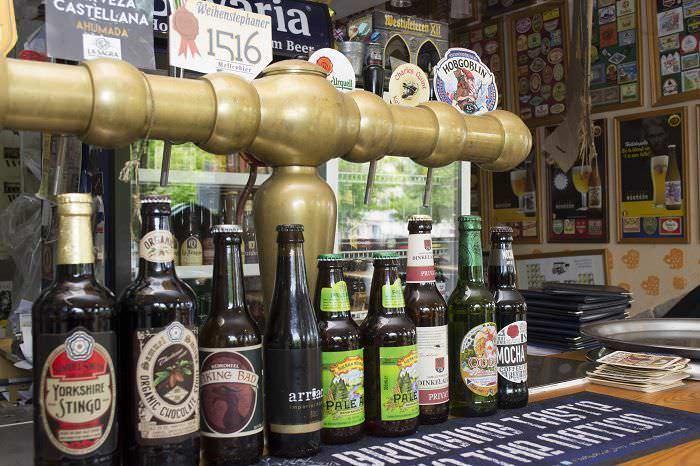 Variedad de cervezas