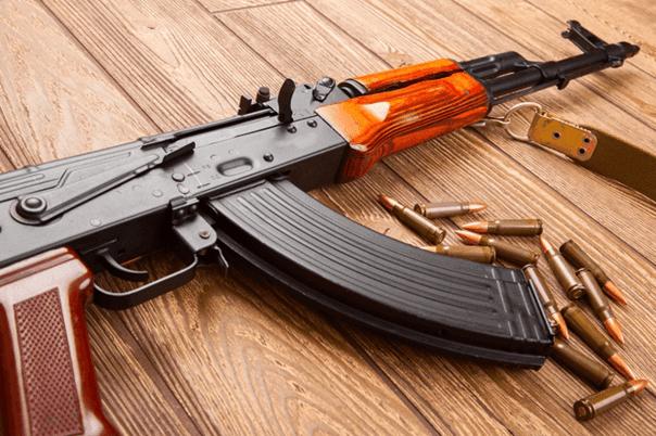 Disparar con AK47
