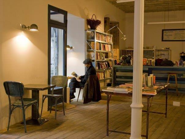 La fugitiva cafeteria libreria lavapies