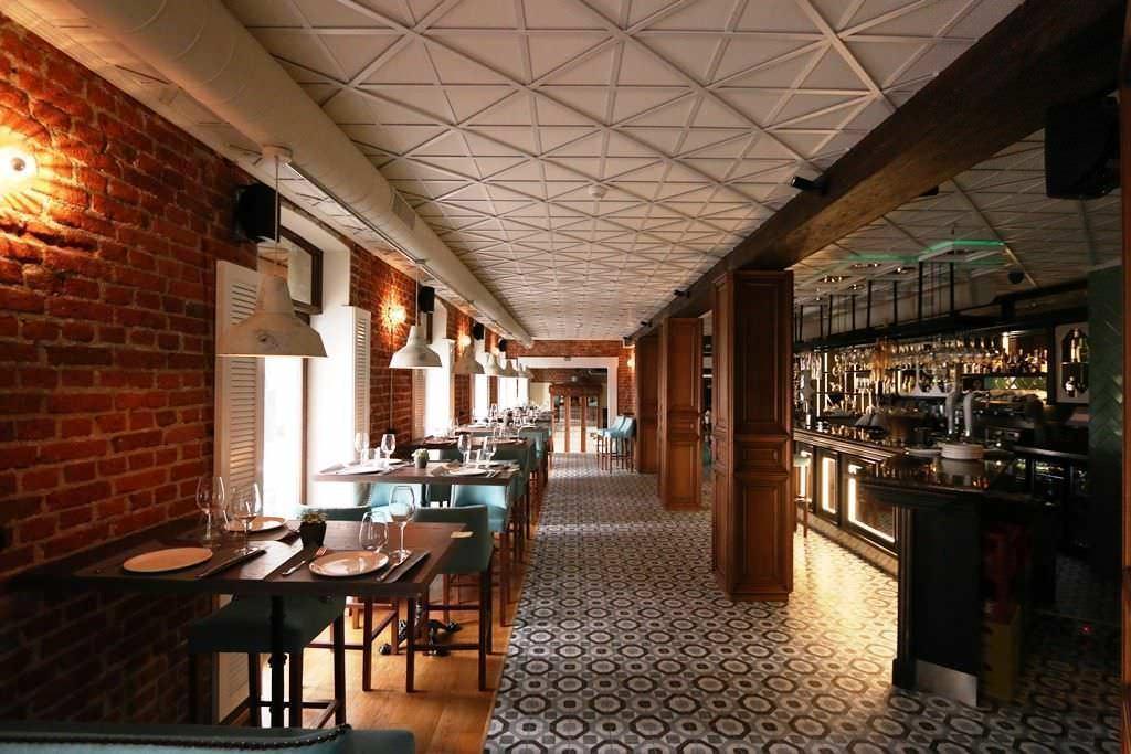 Planta superior Restaurante Flavia en Madrid