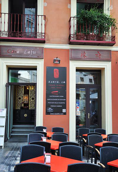Restaurante Casa Lafu en Gran Vía. Comida de Sichuan y Shanghai