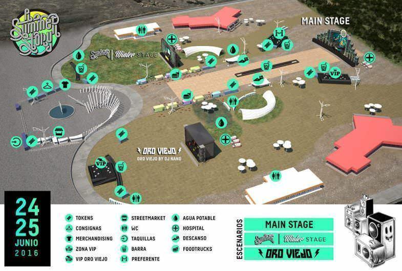 Mapa festival