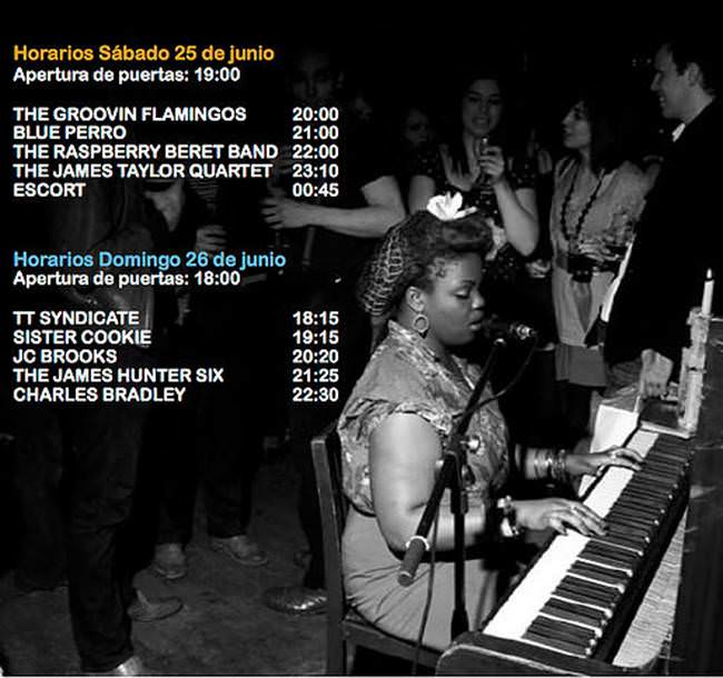 Horarios del Black Is Back Weekend