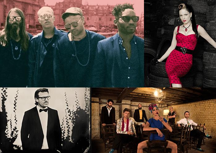 Grupos musicales que actúan en el MMC Fest 2016