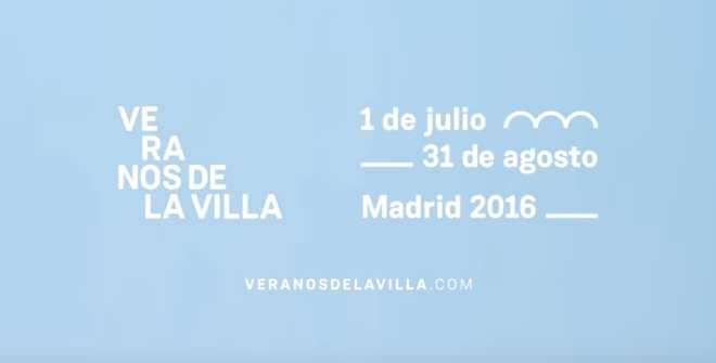Veranos de la Villa en Madrid