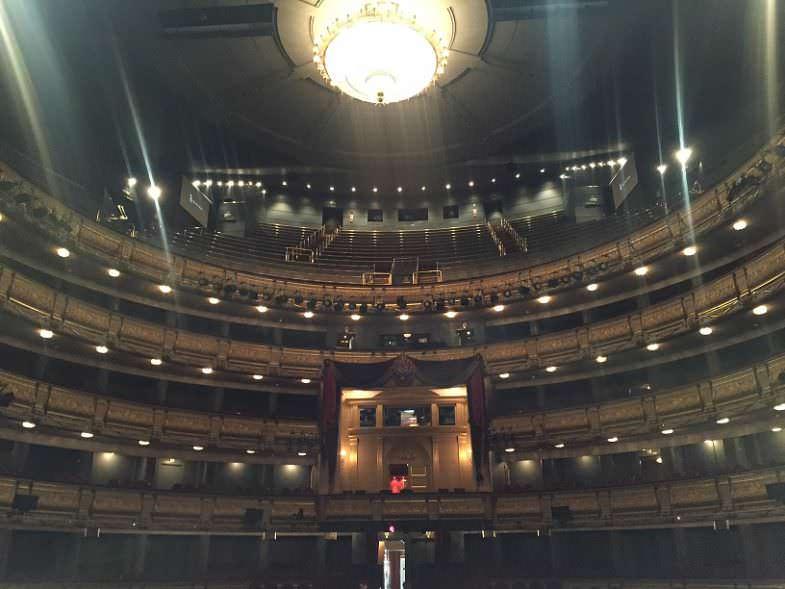 Escenario Teatro Real de Madrid