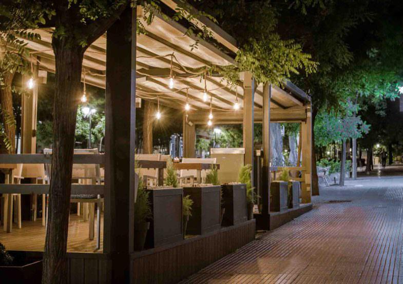 Terraza Restaurante Lúa
