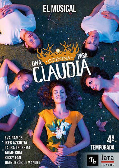 Una corona para Claudia en el Teatro Lara