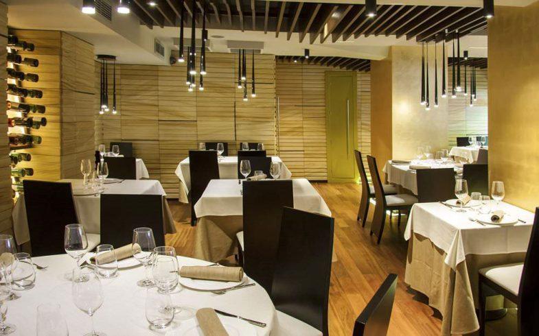 Interior restaurante Asgaya en madrid Chamartin