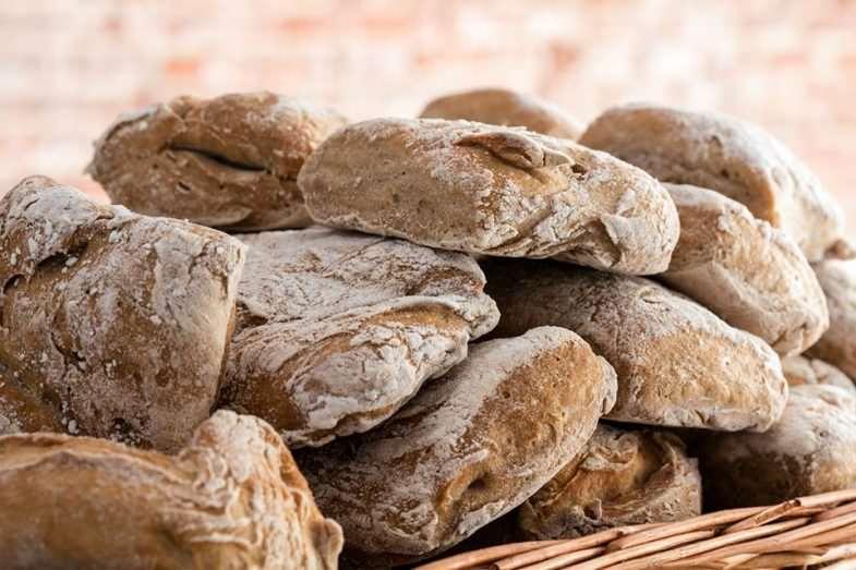 Pan artesano recién hecho sin gluten