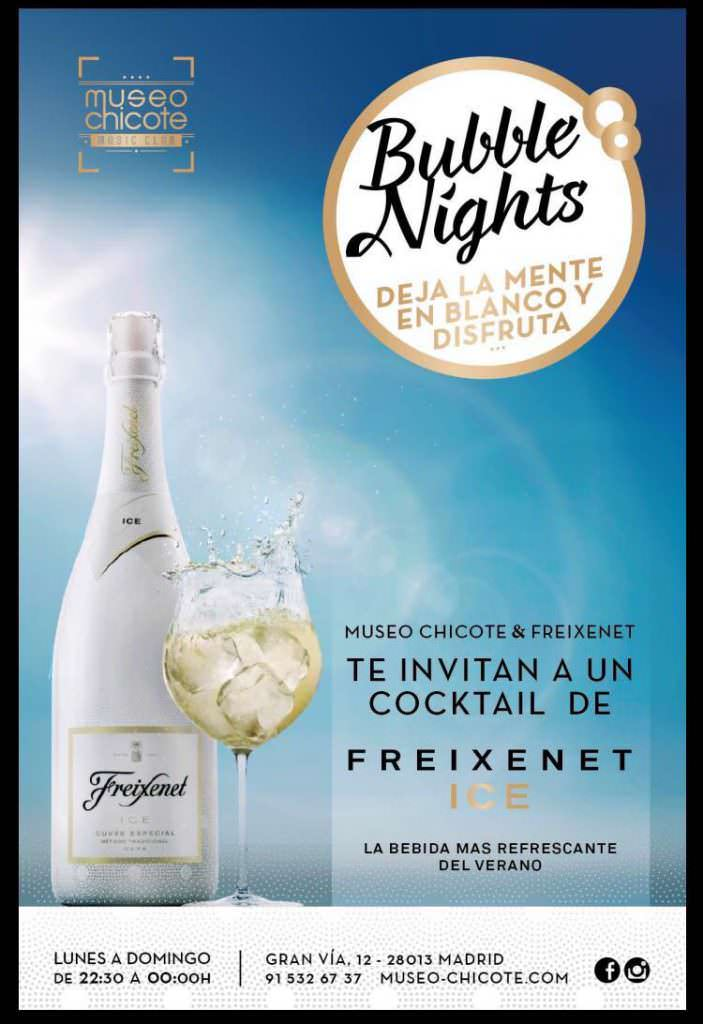 BUBLLE NIGHTS ICE FREIXENET