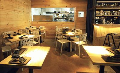Interior Bar Pajarita en Alonso Martinez