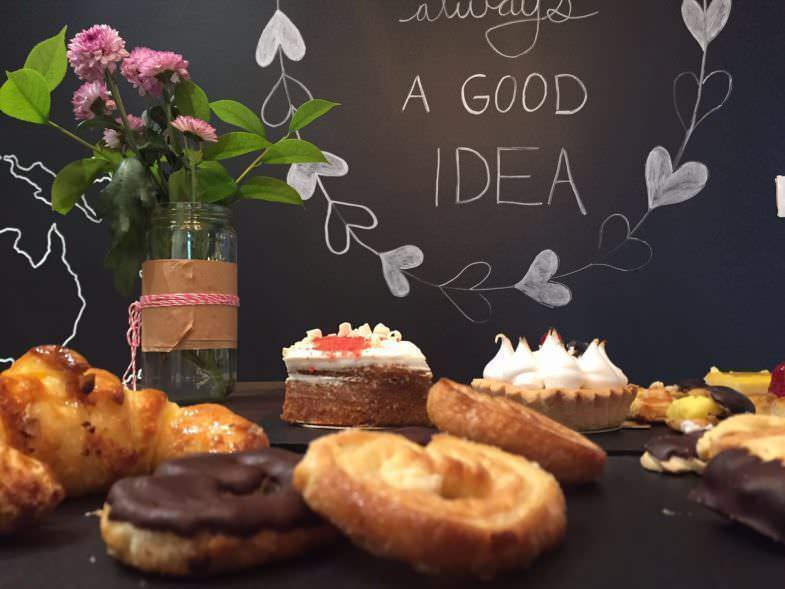 Palmeras, tartaletas y croissants