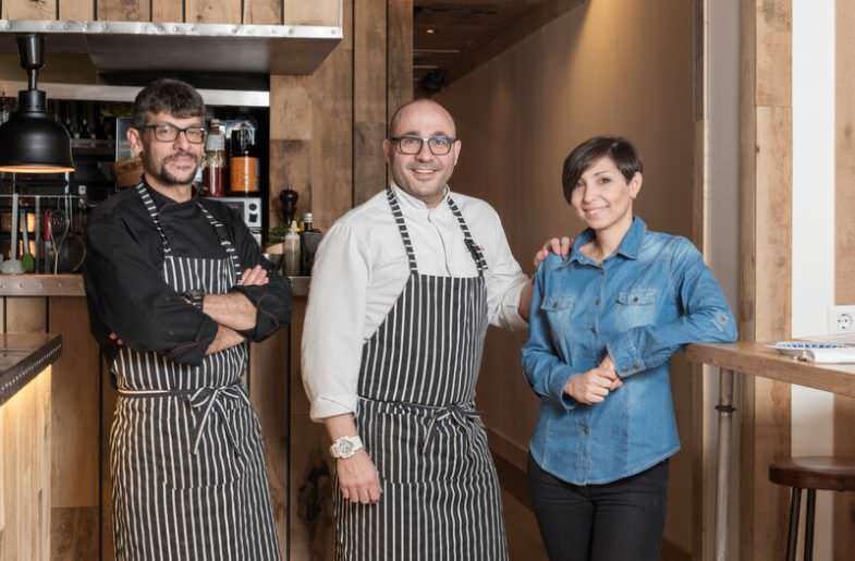 Equipo Bistronomika en Barrio de las Letras